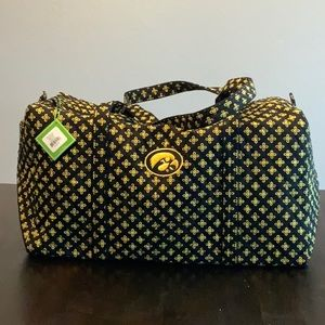 Collegiate Collection Large Duffle : Iowa Hawkeyes